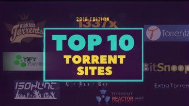 أفضل 10 مواقع تورنت