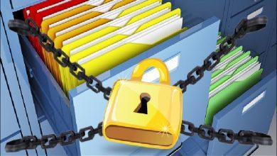 إخفاء المجلدات والملفات
